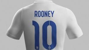 Nike England home kit World Cup 2014