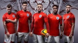 Nike England away kit World Cup 2014