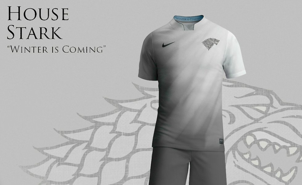 Tutte le maglie da calcio di Game of Thrones