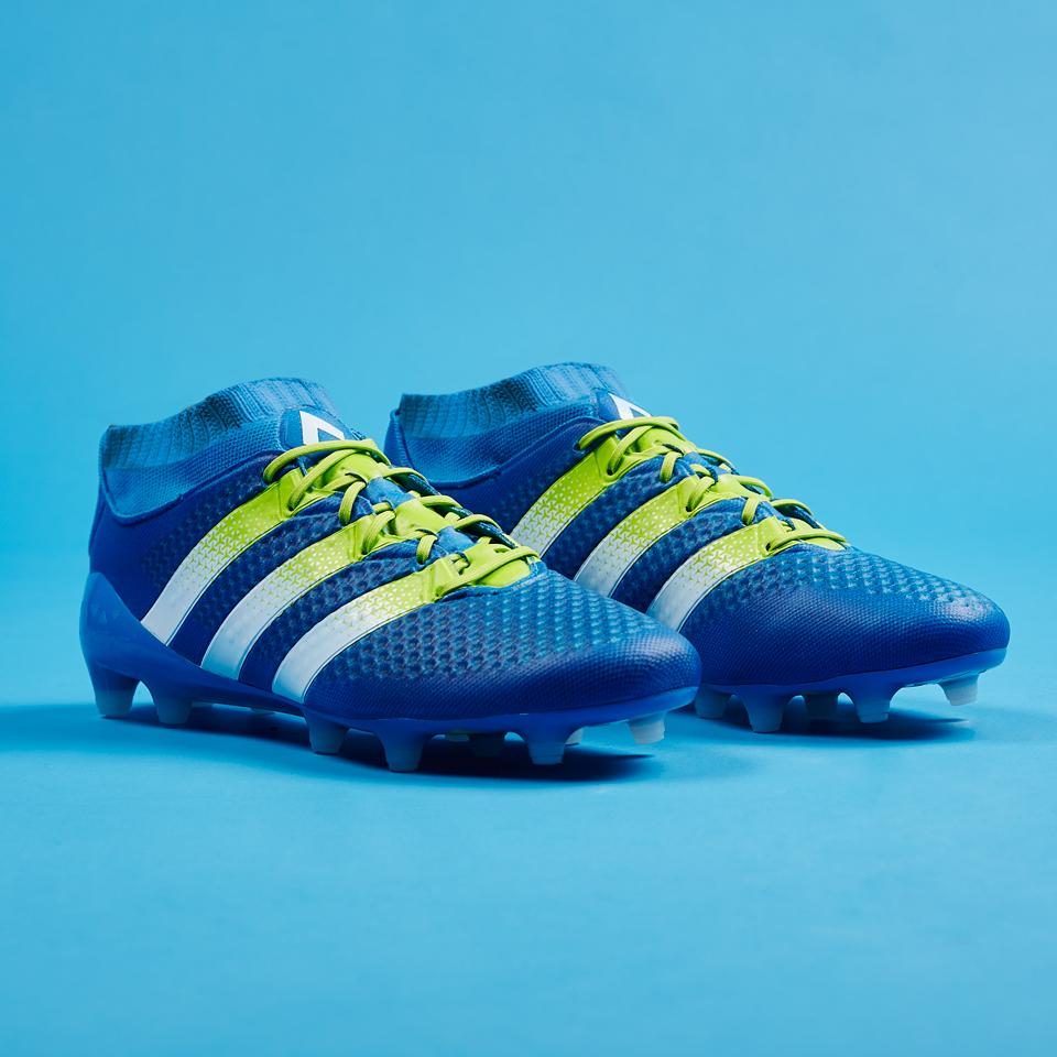 Shock blue nuovo colore per le adidas ace16 for Adidas che cambiano colore