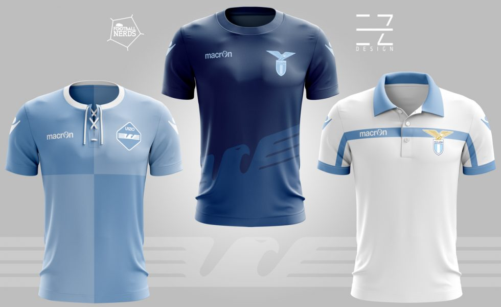 SS Lazio 2017/18: i concept kit by EZETA Design