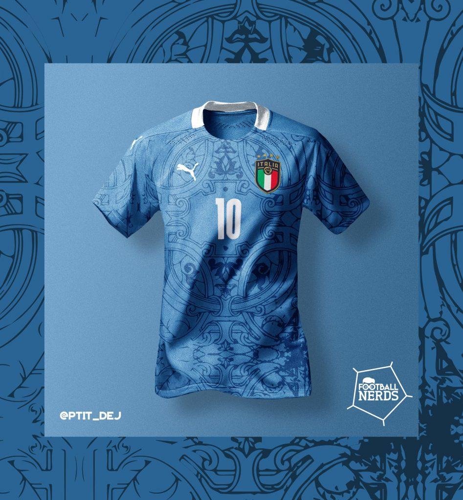 Concept kit Puma maglie Italia Euro 2020