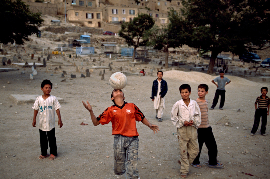 steve mccurry football and icons