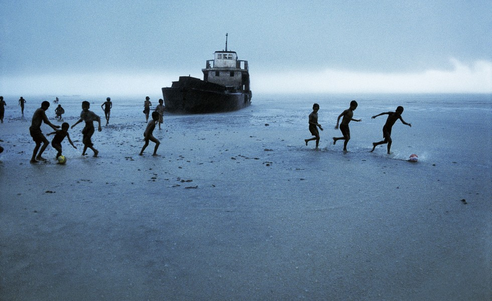 Steve McCurry e la mostra Football and Icons