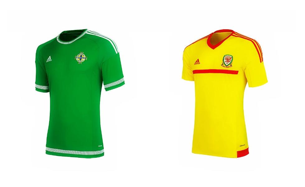 Due novità Adidas per Galles e Irlanda del Nord
