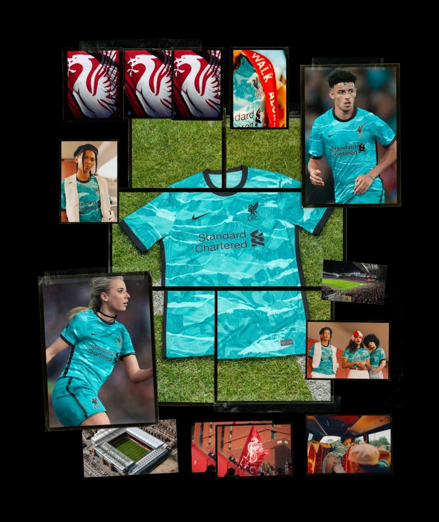 le nuove maglie nike del liverpool 20/21 away