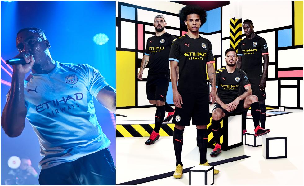 Le nuove maglie Puma del Manchester City