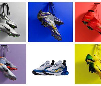 Scarpe calcio Nike. La collezione Nike Mercurial heritage iD 2018 7b7492632b27