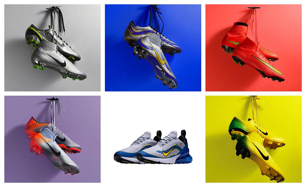 La collezione Nike Mercurial heritage iD 2018