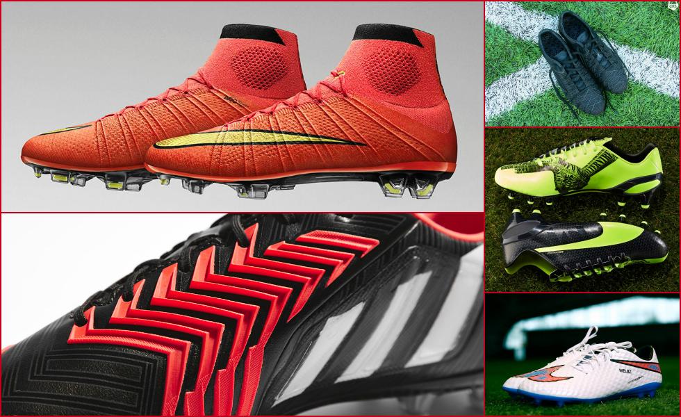 Le 5 scarpe da calcio pi belle del 2014 for Le piu belle lampade da tavolo