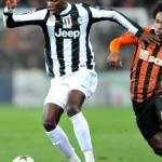 Eccolo nei primi tempi alla Juventus, con le Adidas Predator LZ