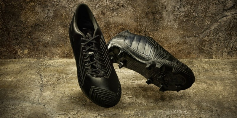 competitive price 4f4c4 2a660 adidas predator instinct black pack