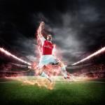 PUMA Launches the 2015-16 Arsenal Home Kit_Giroud_2