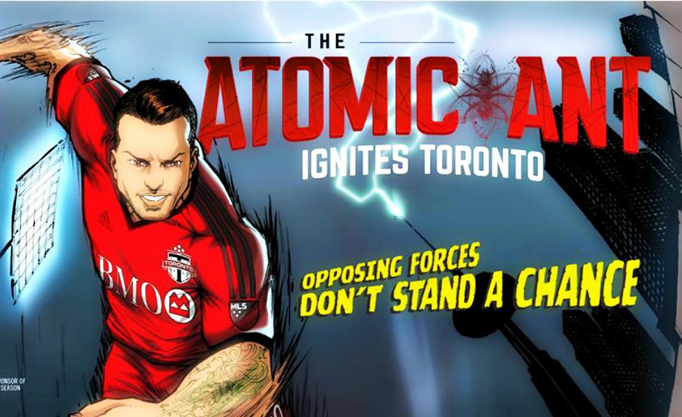 Toronto FC, Giovinco diventa The Atomic Ant