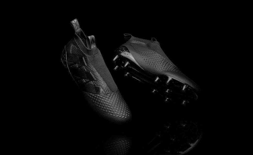 adidas nere senza lacci