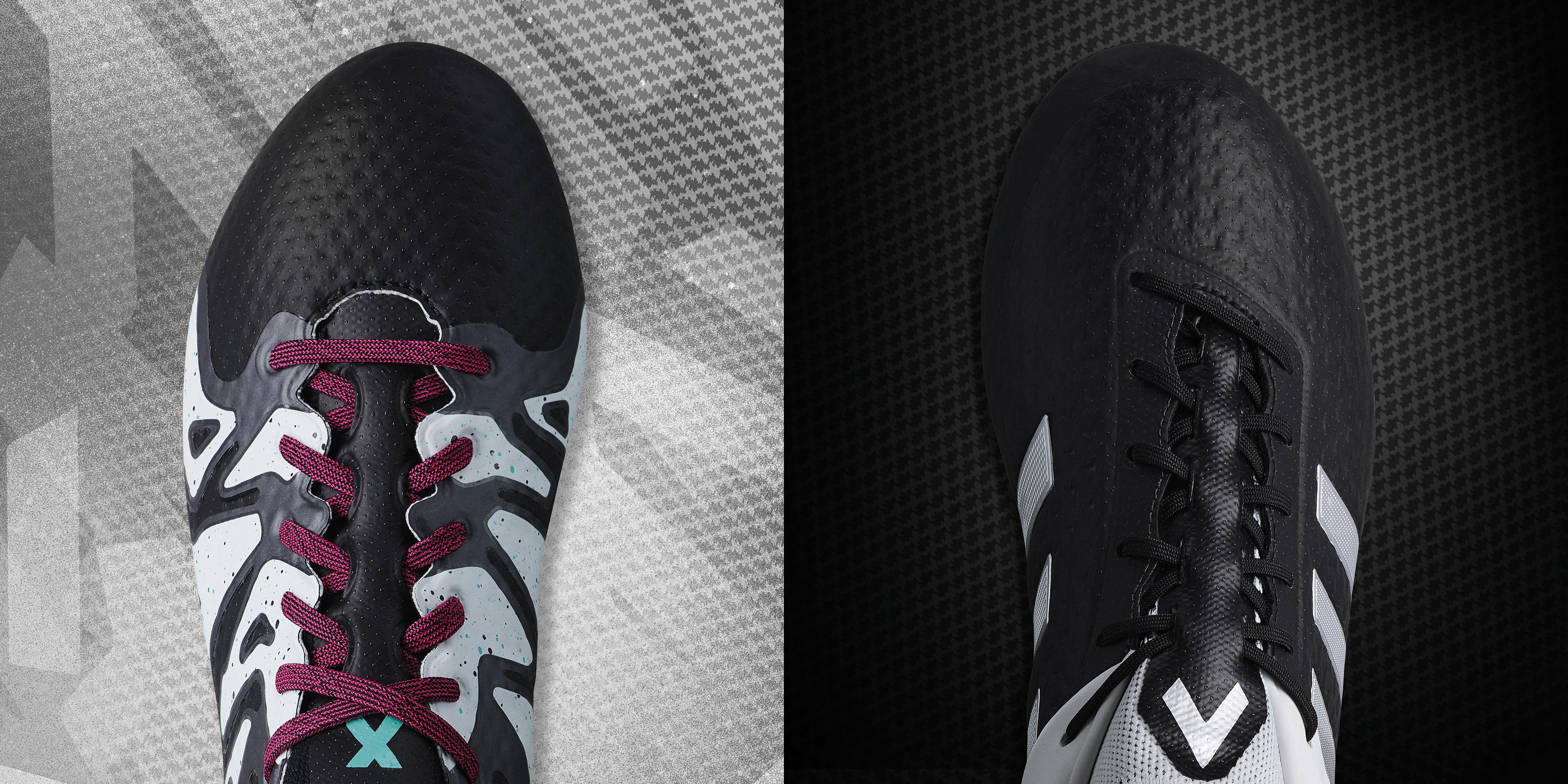 Adidas Calcio Nere E Rosse