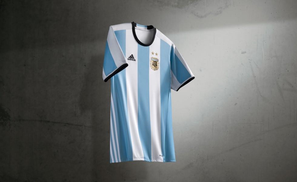 Adidas e la nuova maglia dell'Argentina 2016