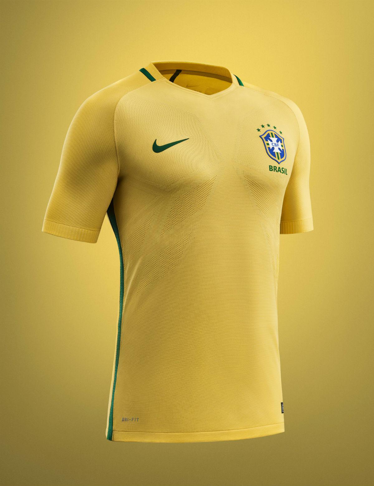 Nike presenta le maglie 2016 del Brasile