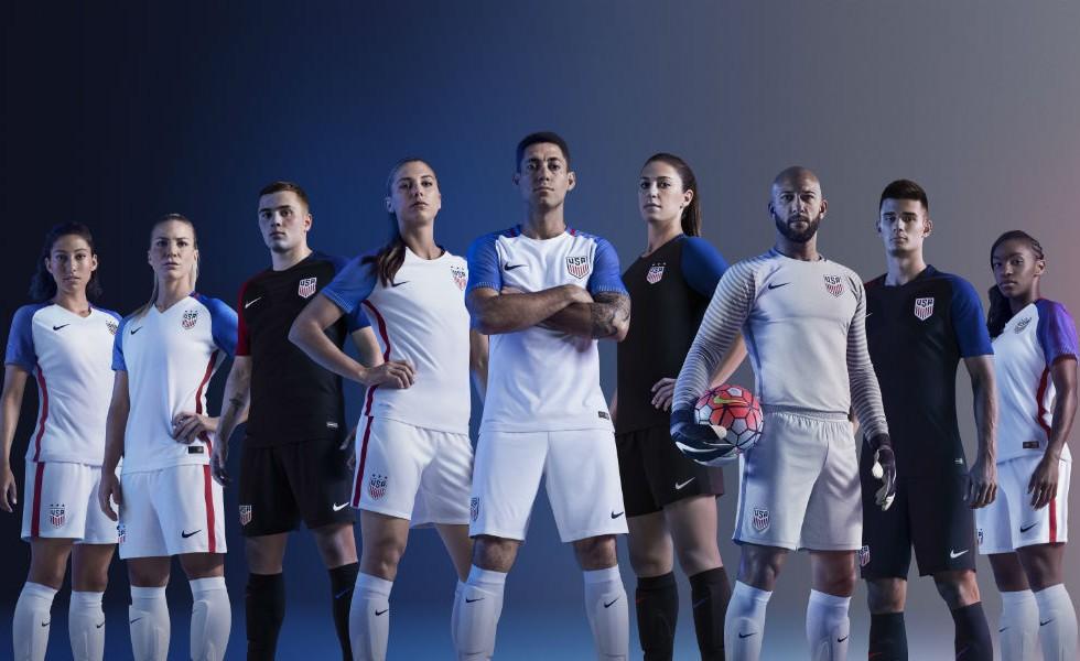 Nike, i kit USA per la Copa America 2016