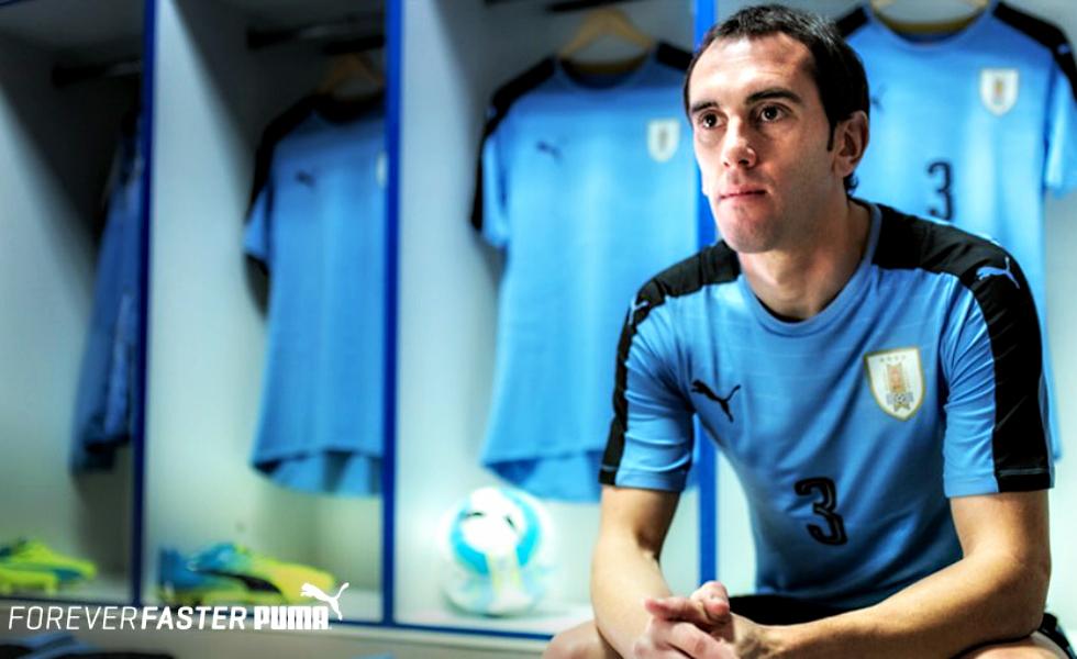 Puma, le maglie dell'Uruguay per la Copa America 2016