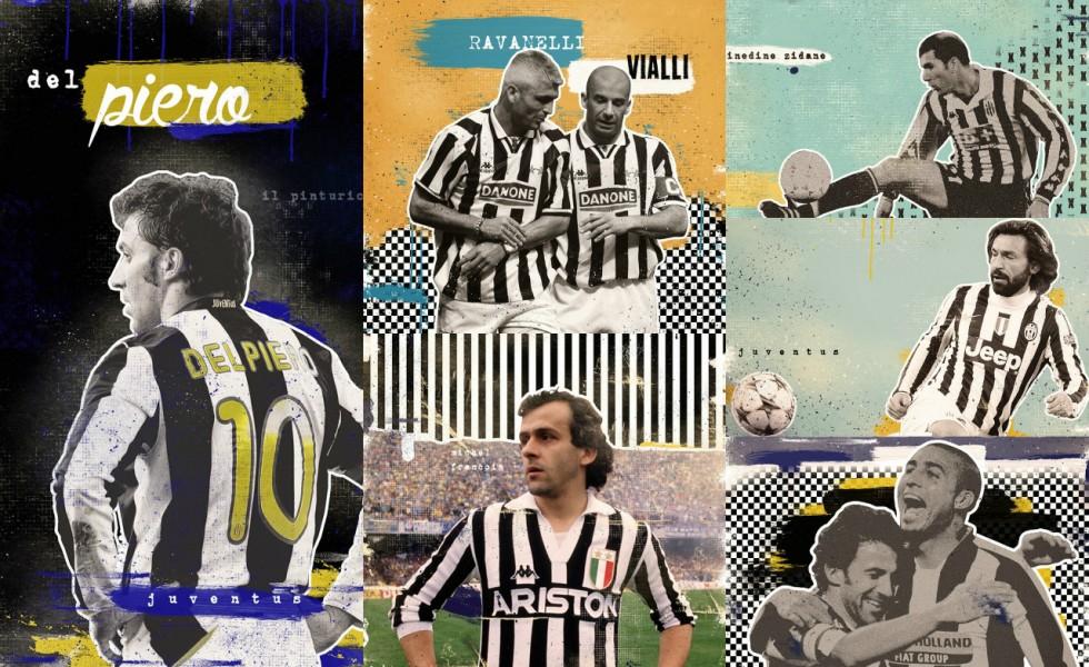 Marija Markovic e leggende della Juventus