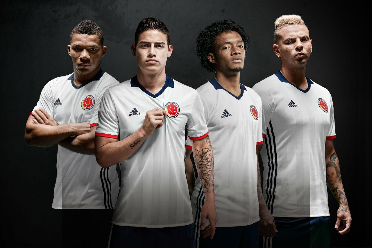 Maglia Colombia 2016 2017 Adidas Home