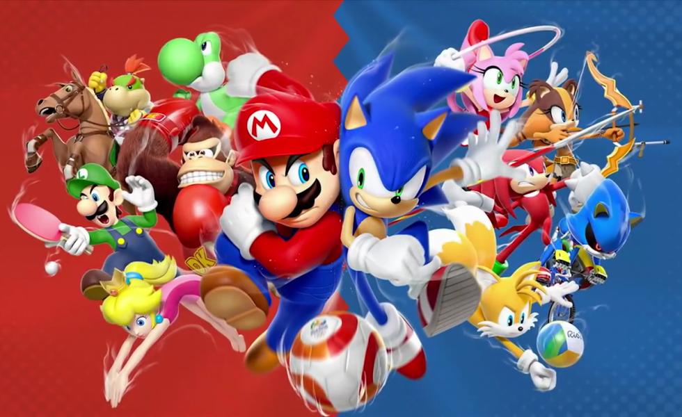 Nintendo, il test di Mario e Sonic ai Giochi Olimpici di Rio 2016