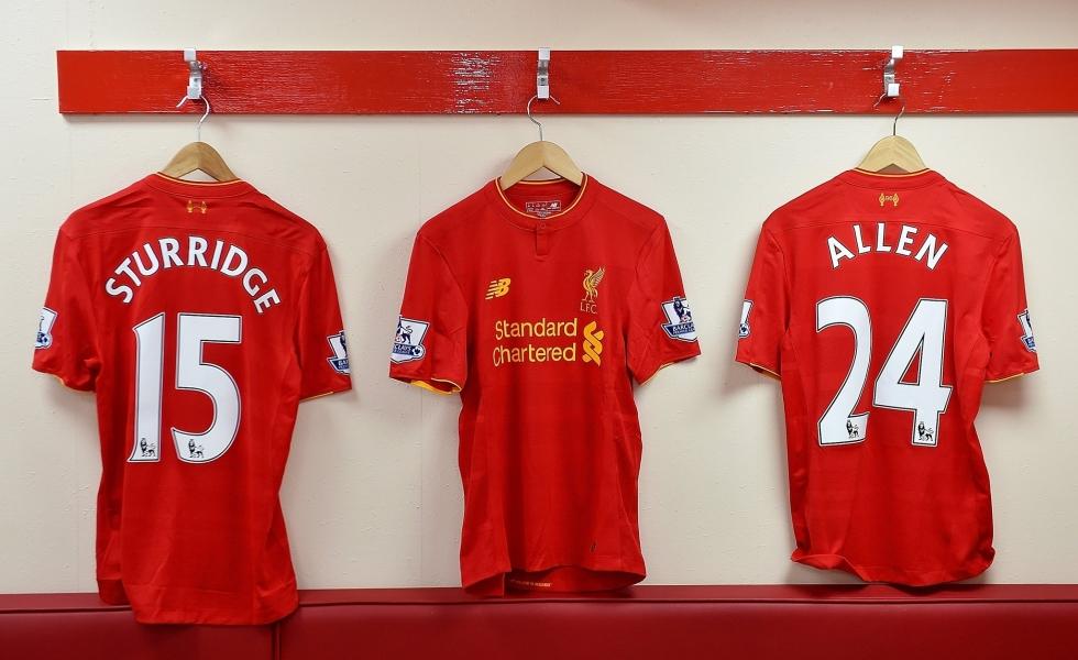 completo calcio Liverpool ufficiale