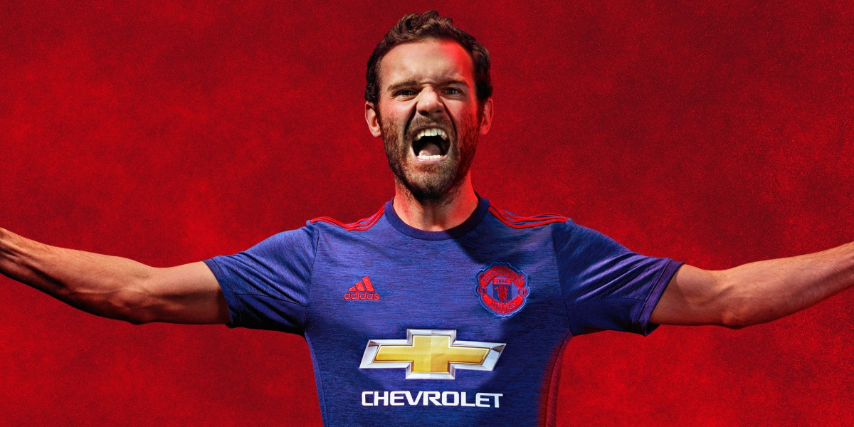manchester united away 2016-17