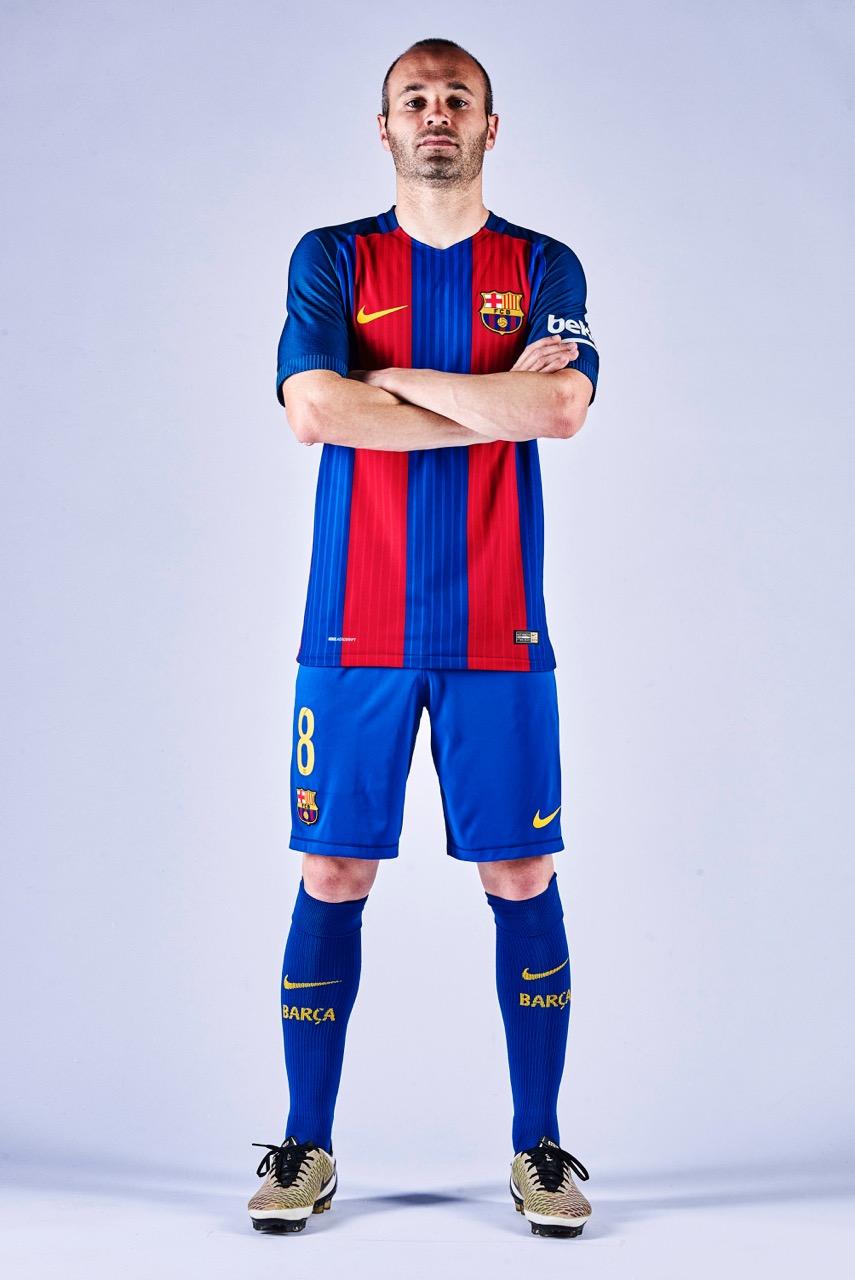 Maglia Home FC Barcelona 2017