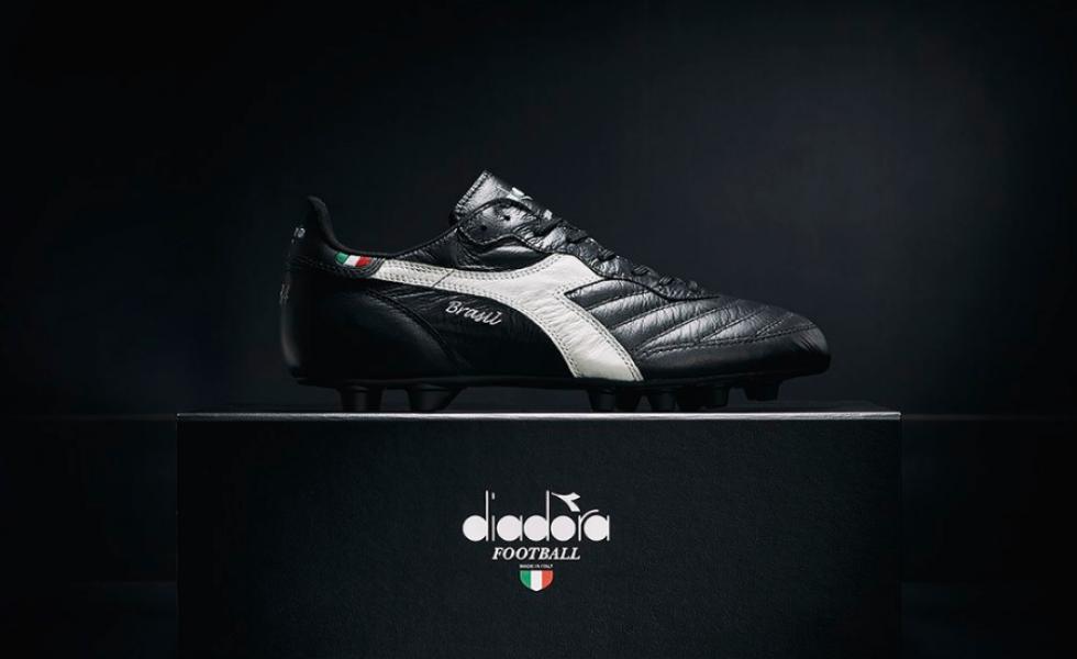 Diadora Brasil Italy OG, il test