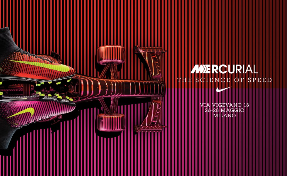 The Science of Speed: tutti gli eventi Nike Football a Milano