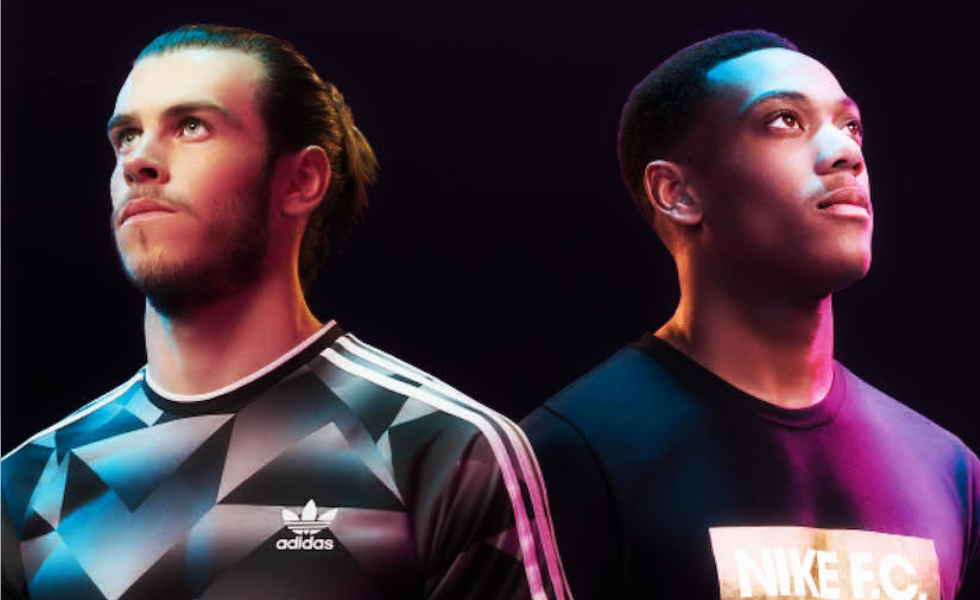 All Fans: Gareth Bale e Anthony Martial X Foot Locker