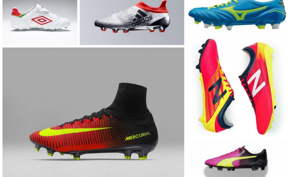 Tutte le scarpe da calcio di Euro 2016