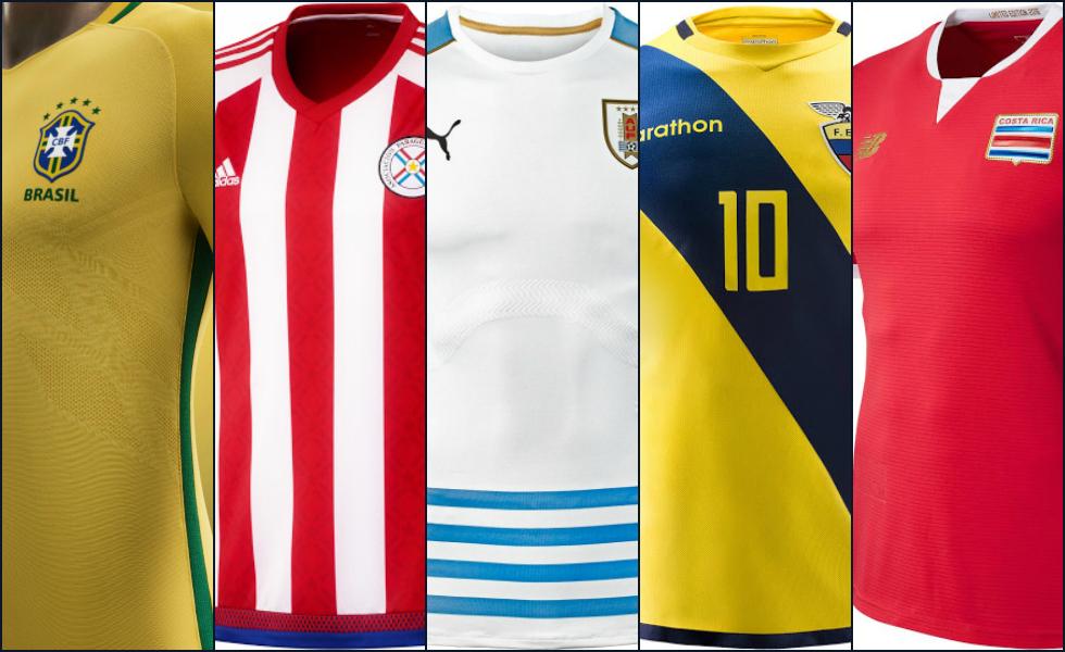 Copa America 2016, tutte le maglie