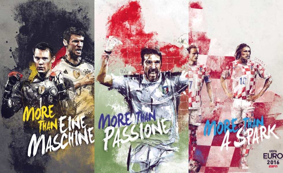 More than… | Florian Nicolle x ESPN Euro 2016