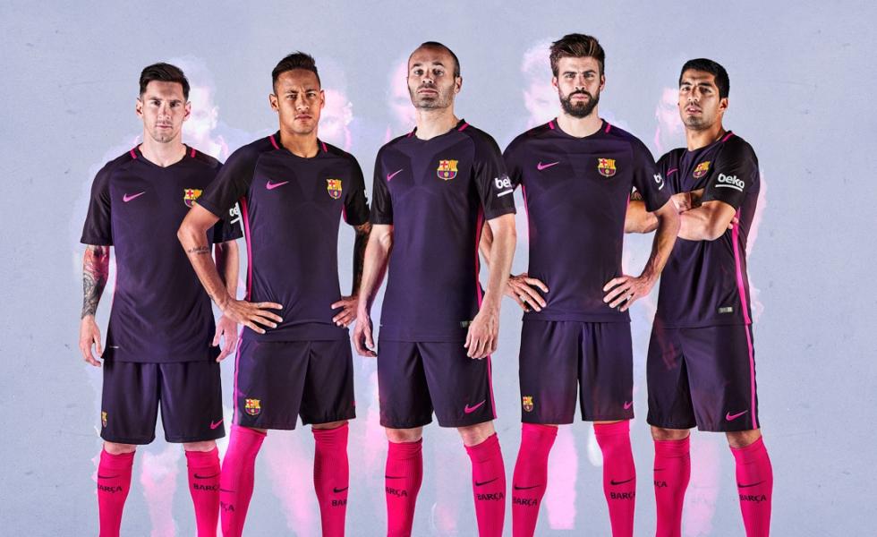 Seconda Maglia FC Barcelona 2017