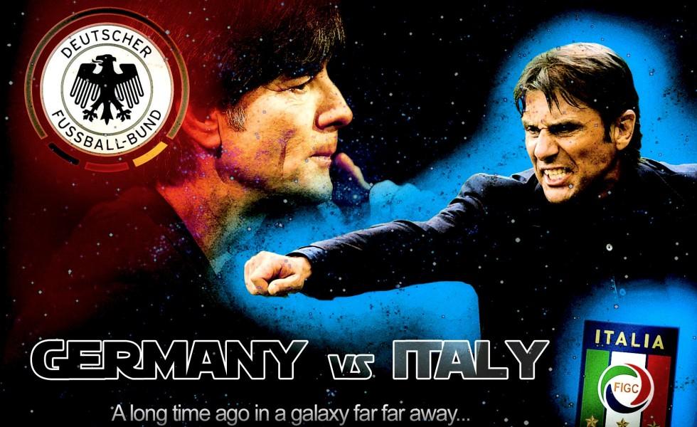 Italia-Germania, la sfida Nerd