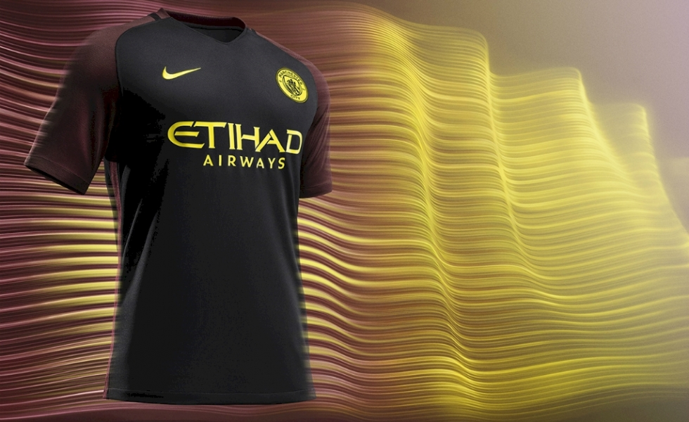 Manchester City, il nuovo kit away 2016/17