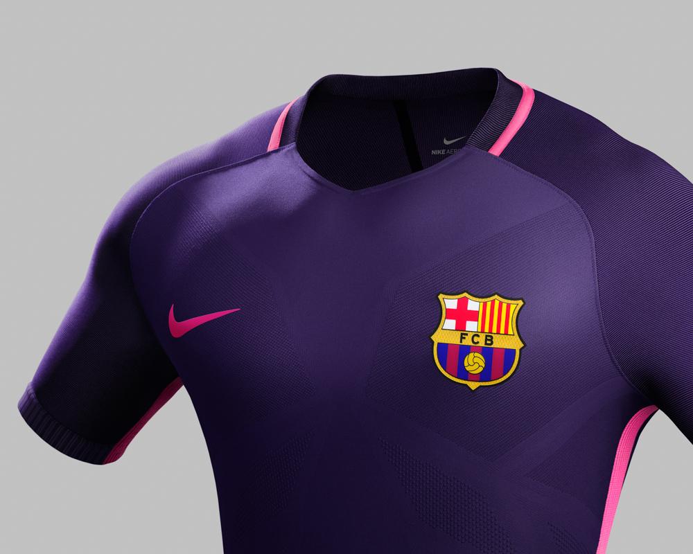 Nike, la seconda maglia del Barça 2016/17