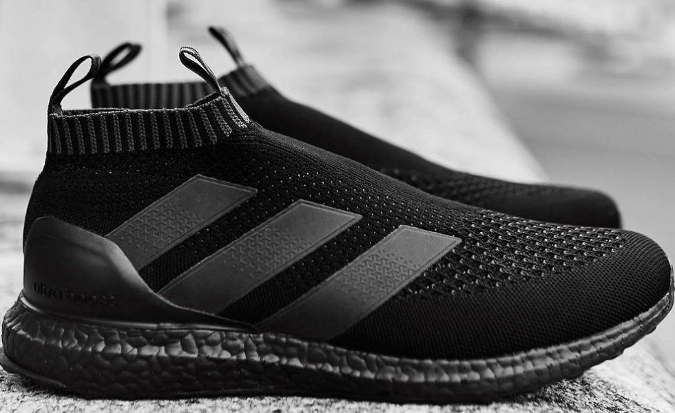 finest selection a1128 42ada hot adidas ace 16 ultra boost triple negro ae73d 8c460