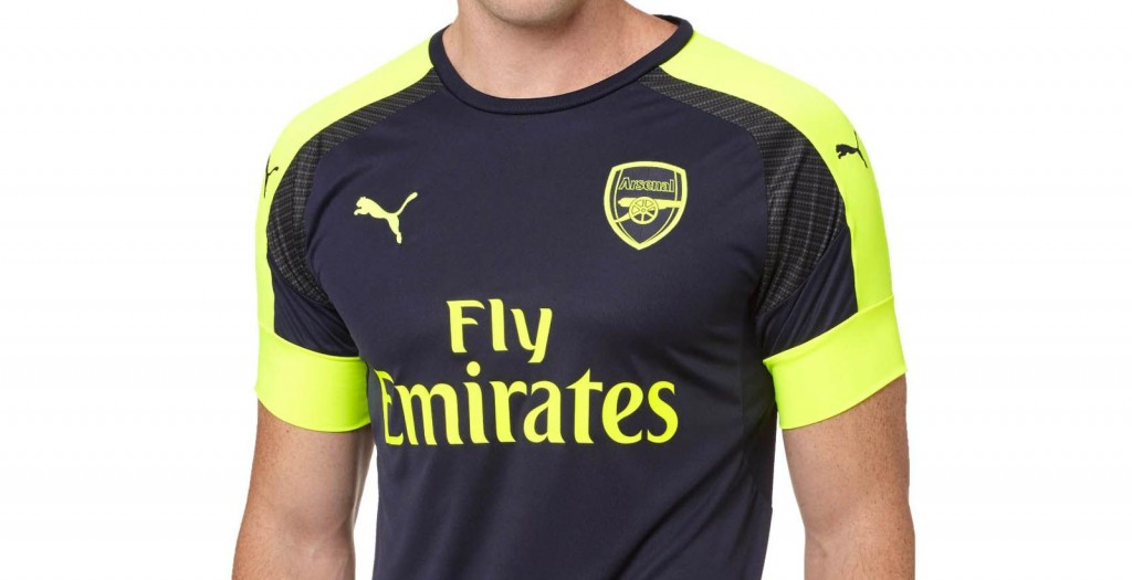 arsenal away and third kit 2016 17