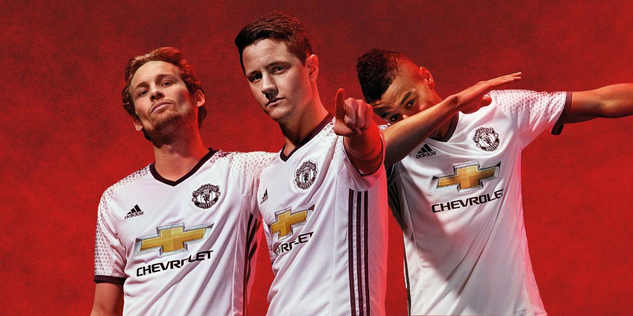 Manchester Utd, la terza maglia 2016/2017