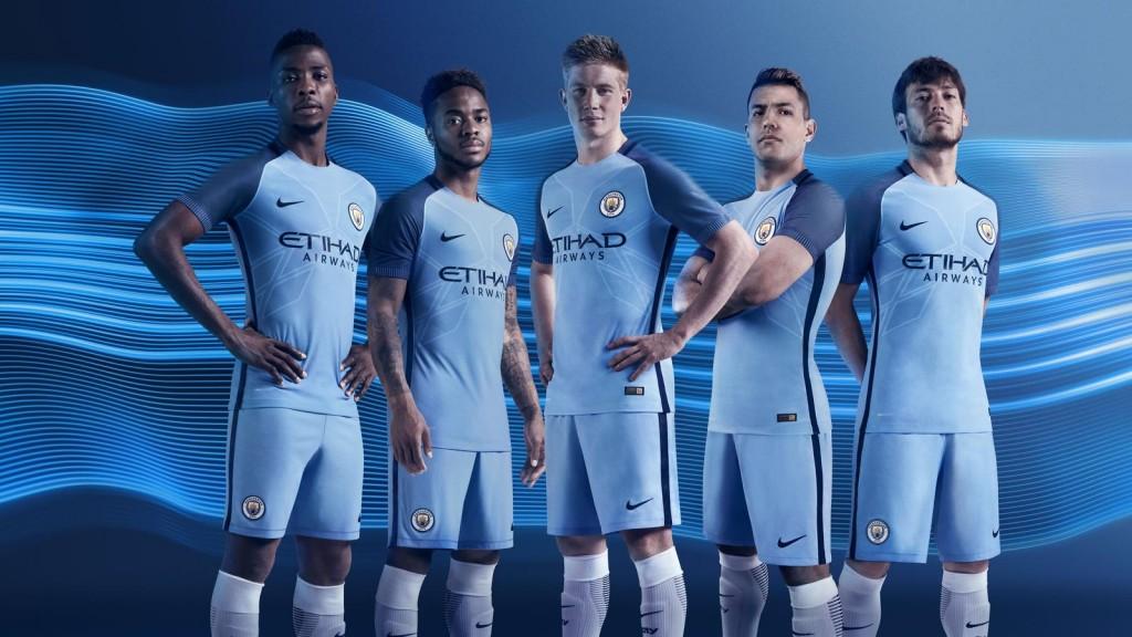 Nike Maglia Manchester City 2016-17