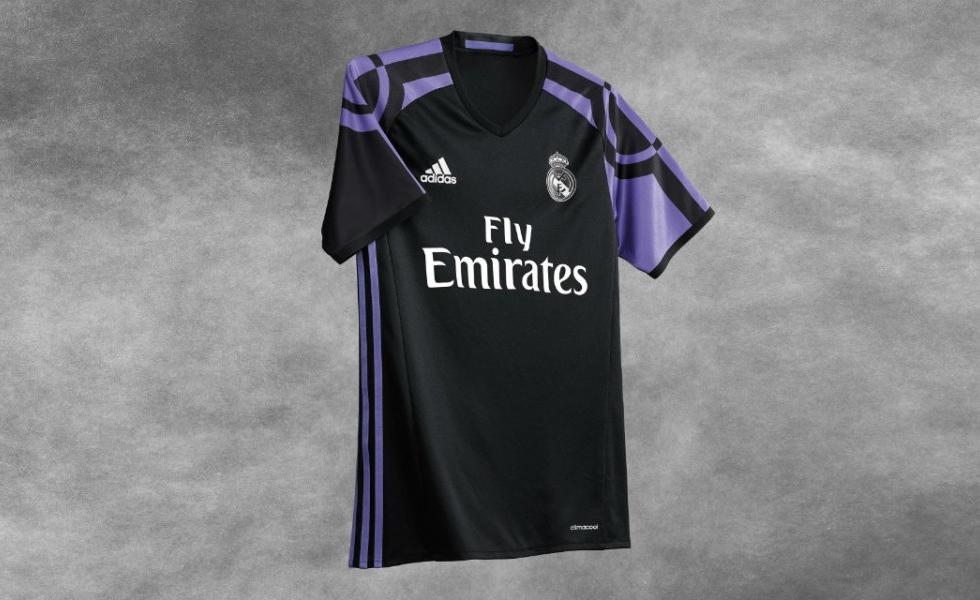 Seconda Maglia Real Madrid ufficiale