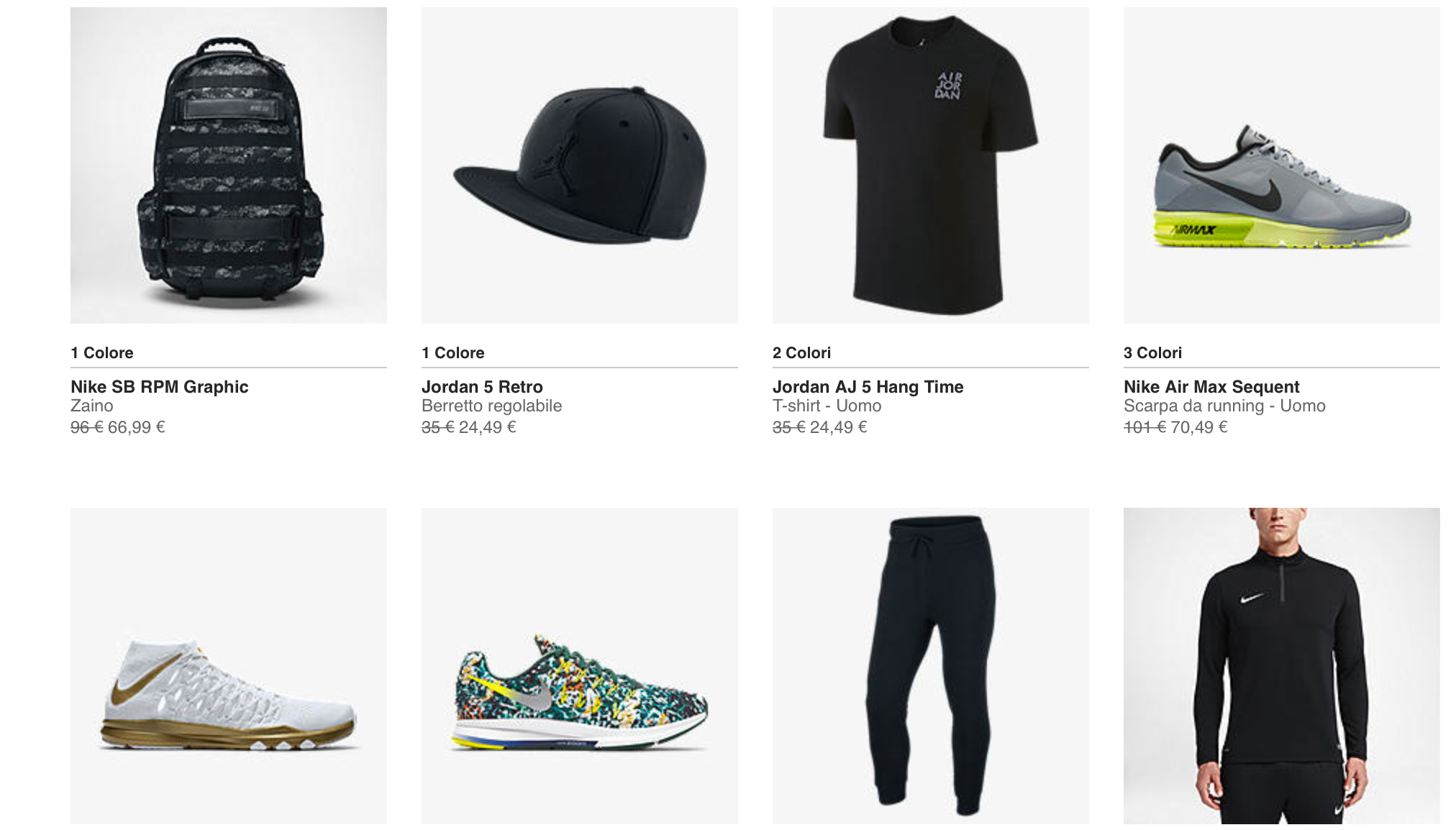 Nike Saldi Fine Estate