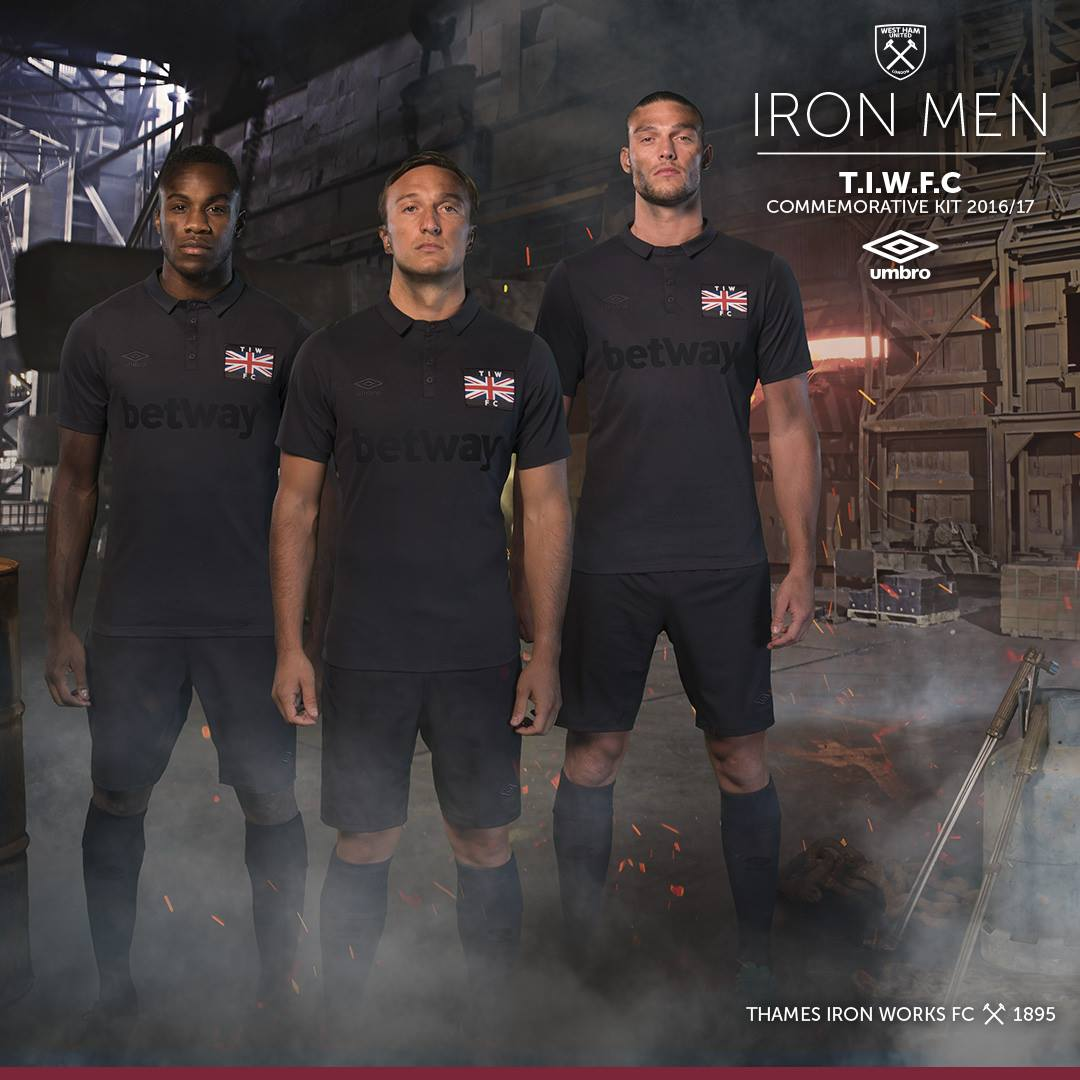 west ham thames ironworks kit 2016