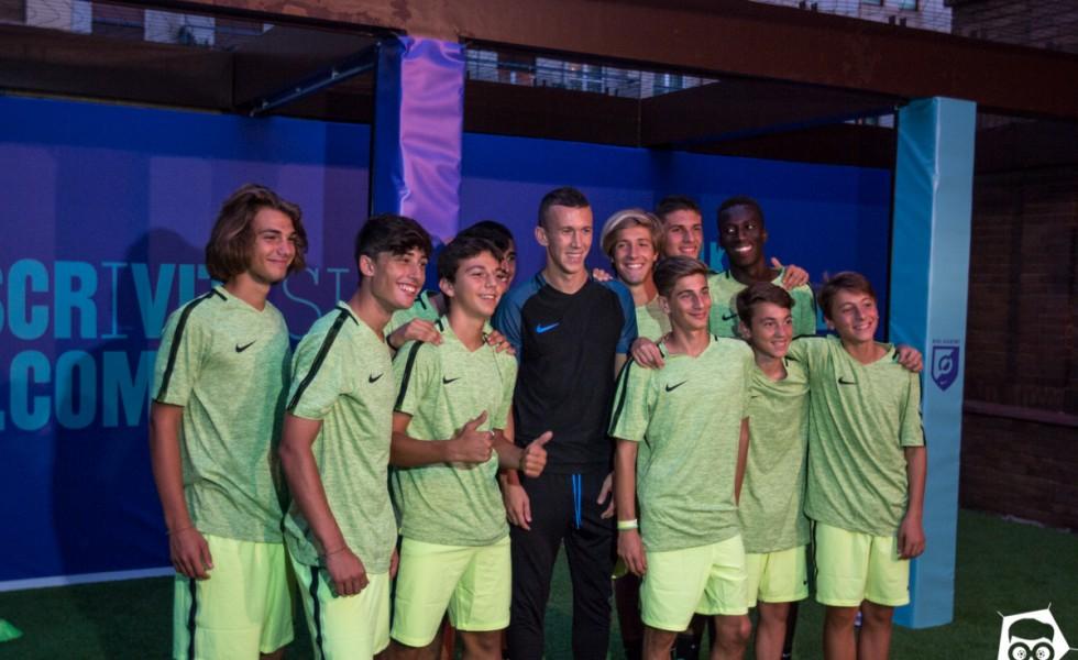 Nike Football Training: Perisic e Romagnoli @ Calcioshop MI