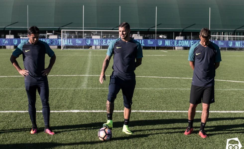 Nike Academy a Milano con Eder e Icardi