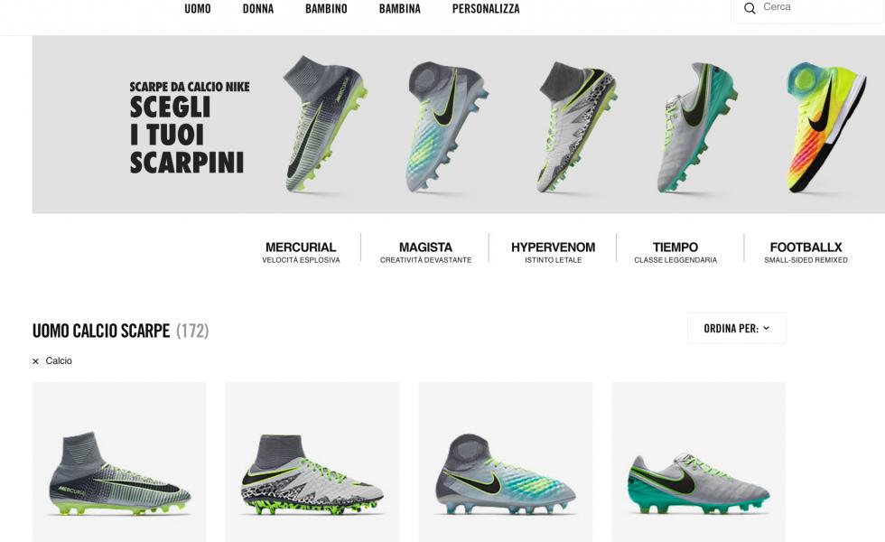 Nike 30 days Trial: prova le tue scarpette per 30 giorni